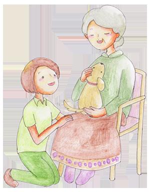 ペット共生型福祉施設